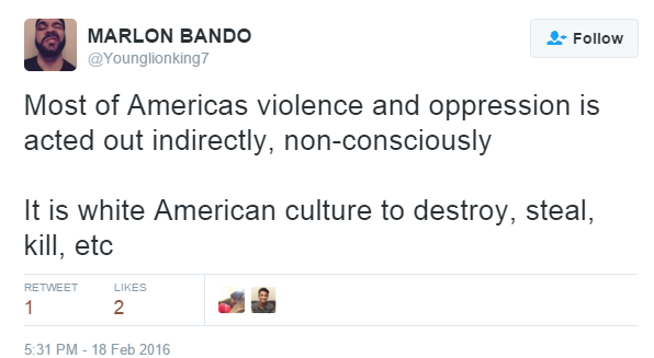 American Culture to destroy