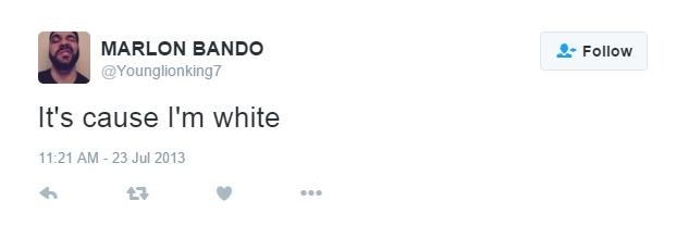 cos im white