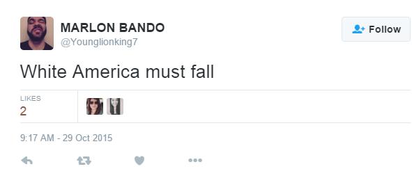 White America Must Fall