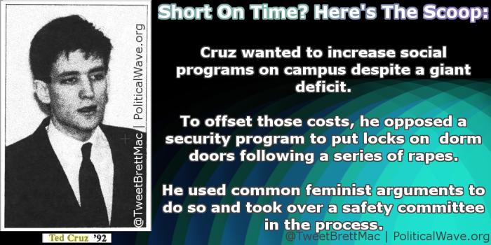 Cruz is a scumbag